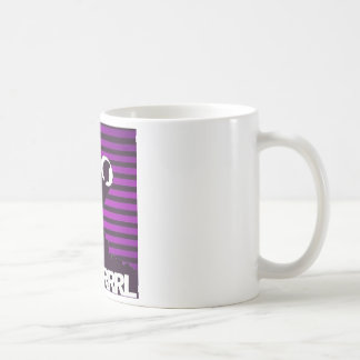 """Blk Grrrl """"it's coffee, not alcohol in this"""" mug"""