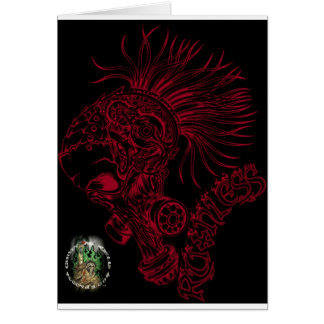 Blk/Red Ruthless Card