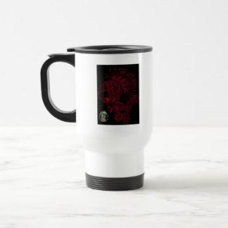 Blk Red Ruthless Mug