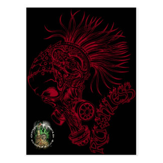 Blk/Red Ruthless Postcard