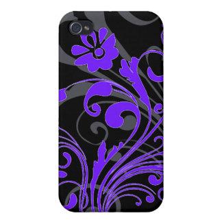 Blk swirl iphone Case iPhone 4 Cases