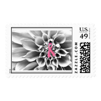 Blk/Wht/Pink Ribbon Postage