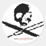 blkrfdc round sticker