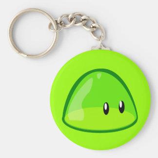 blob-161097 LIGHT GREEN CUTE CARTOON ALIEN blob, g Keychain