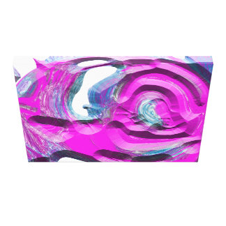 """Blob"" by Artist Haydee Rodriguez Canvas Print"