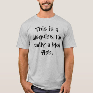 Blob Fish Costume T-Shirt
