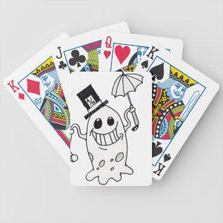 Blob guy bicycle playing cards