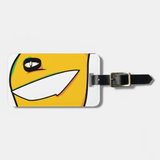 blob luggage tag