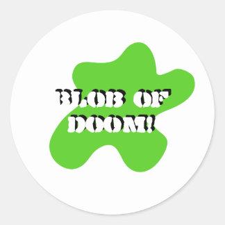 Blob of doom sticker