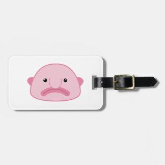 Blobfish Luggage Tag