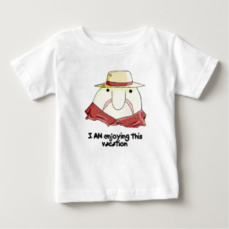 Blobfish on vacation baby T-Shirt