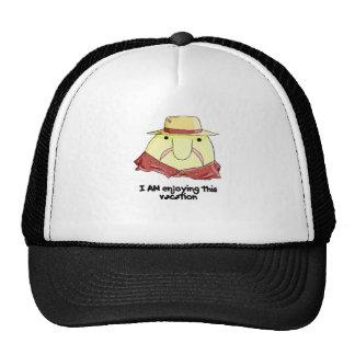 Blobfish on vacation trucker hats