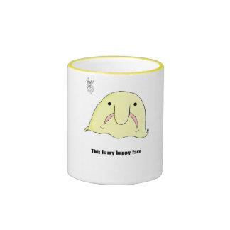 Blobfish Ringer Coffee Mug