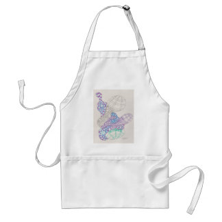 blobs and tangles adult apron