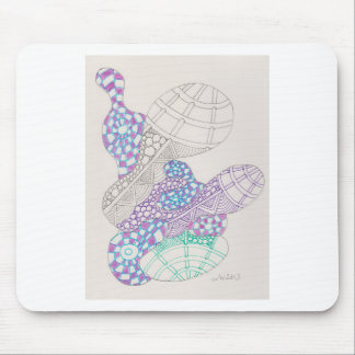 blobs and tangles mousepad
