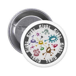 Blobs Pinback Button