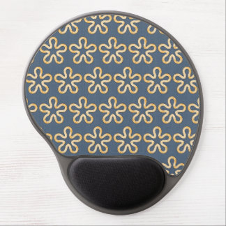 Blobs pattern gel mouse mat