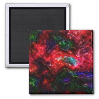 Blobular Rainbow Refrigerator Magnet