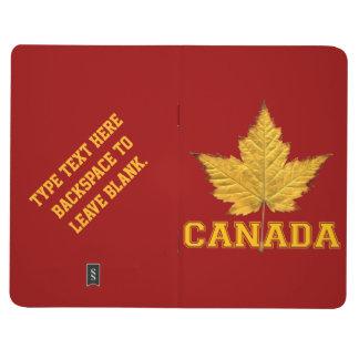 Bloc de bocetos de encargo de Canadá de los cuader Cuadernos Grapados
