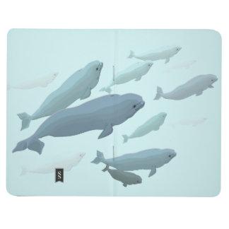 Bloc de bocetos del cuaderno de la ballena del dia