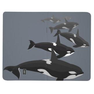 Bloc de bocetos del cuaderno de la orca del diario