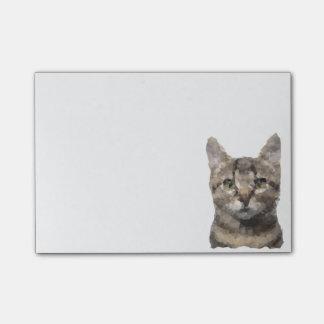 Bloc de notas de reclusión - gato notas post-it®