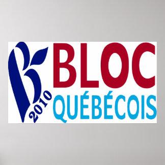 Bloc Quebecois 2010 Poster