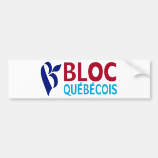 Bloc Quebecois Car Bumper Sticker