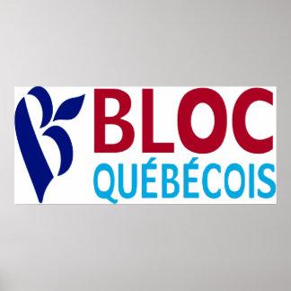 Bloc Quebecois Poster