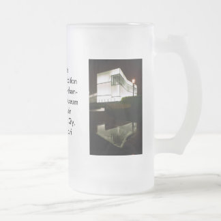 Bloch Addition Frosted Stein 16 Oz Frosted Glass Beer Mug