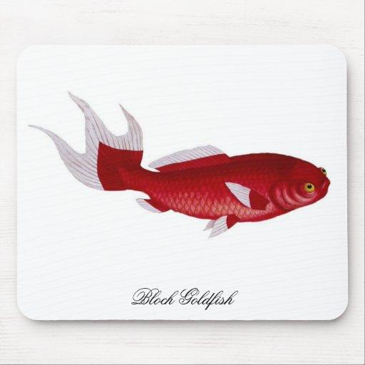 Bloch Goldfish mousepad