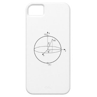 Bloch Sphere | Quantum Bit (Qubit) Physics / Math iPhone SE/5/5s Case