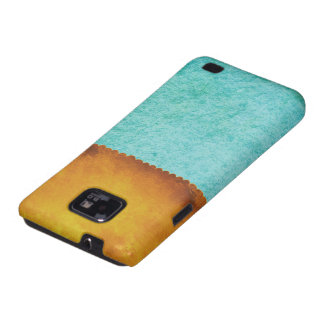Block Color Turquoise Galaxy S2 Cases