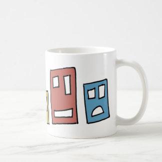 Block Guys Coffee Mugs