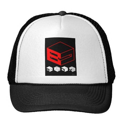 Block Mesh Hats