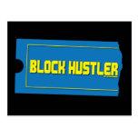 Block Hustler Post Cards