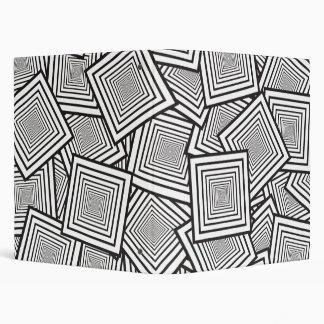 Block Illusions 3 Ring Binder