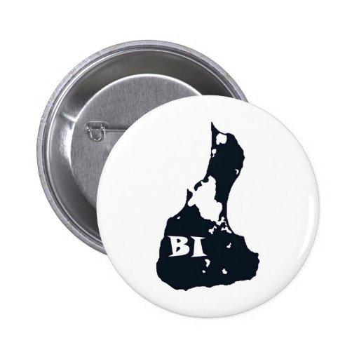Block Island BI Island Shape Pins