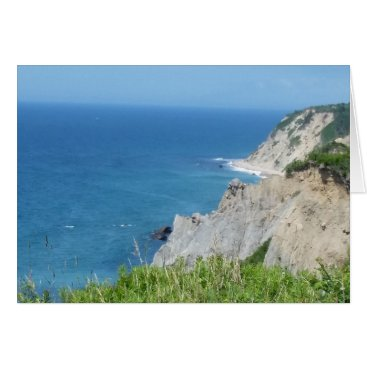 Block Island Bluffs - Block Island, Rhode Island Card