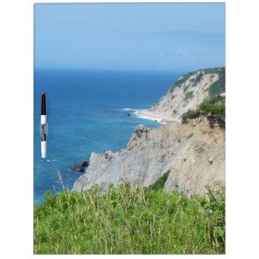 Block Island Bluffs - Block Island, Rhode Island Dry Erase Board