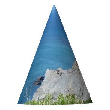 Block Island Bluffs - Block Island, Rhode Island Party Hat