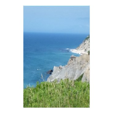 Block Island Bluffs - Block Island, Rhode Island Stationery