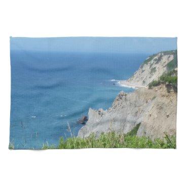 Block Island Bluffs - Block Island, Rhode Island Towel