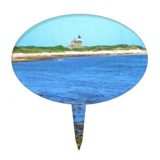 Block Island de la luz del norte Figuras Para Tartas
