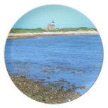 Block Island de la luz del norte Plato