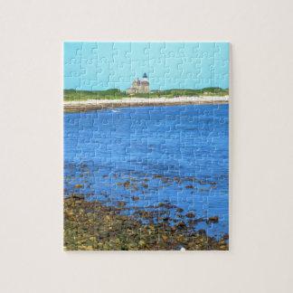 Block Island de la luz del norte Puzzles