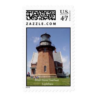 Block Island Lighthouse, Block Island Southeast... Postage