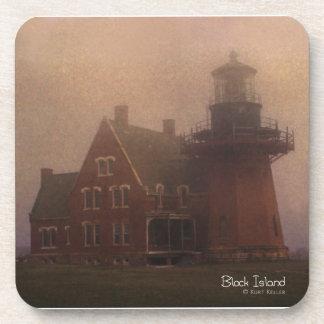 Block Island Lighthouse Drink Coaster