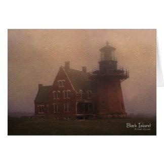 Block Island Lighthouse Greeting Card