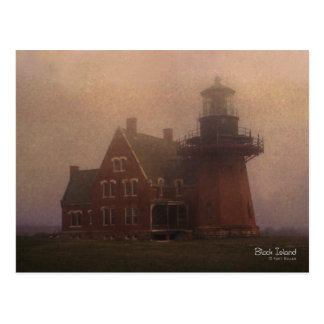 Block Island Lighthouse Postcard